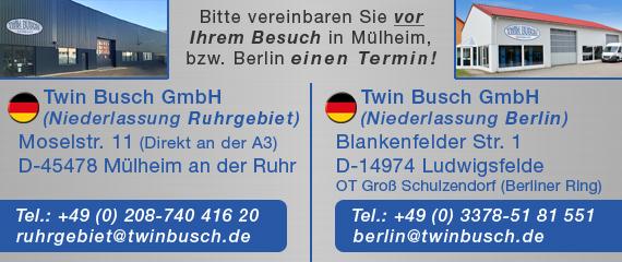 Niederlassung Berlin - Mülheim