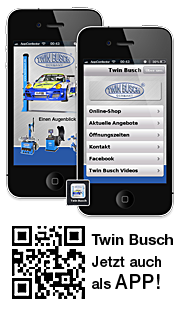 Twin Busch auch als App