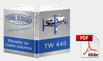 Handbuch TwinBusch 4 Säulen Hebebühne