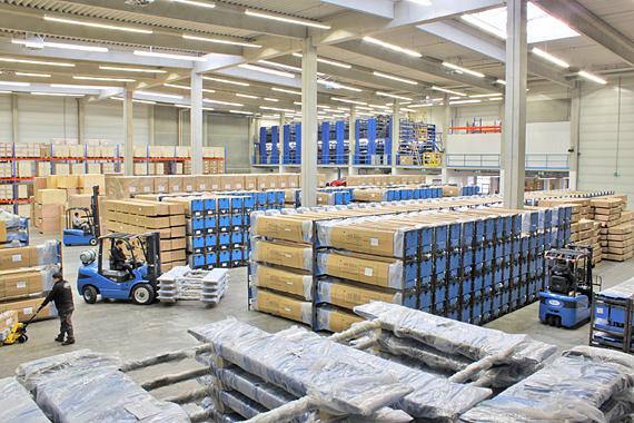 Twin Busch GmbH Bensheim - Lager