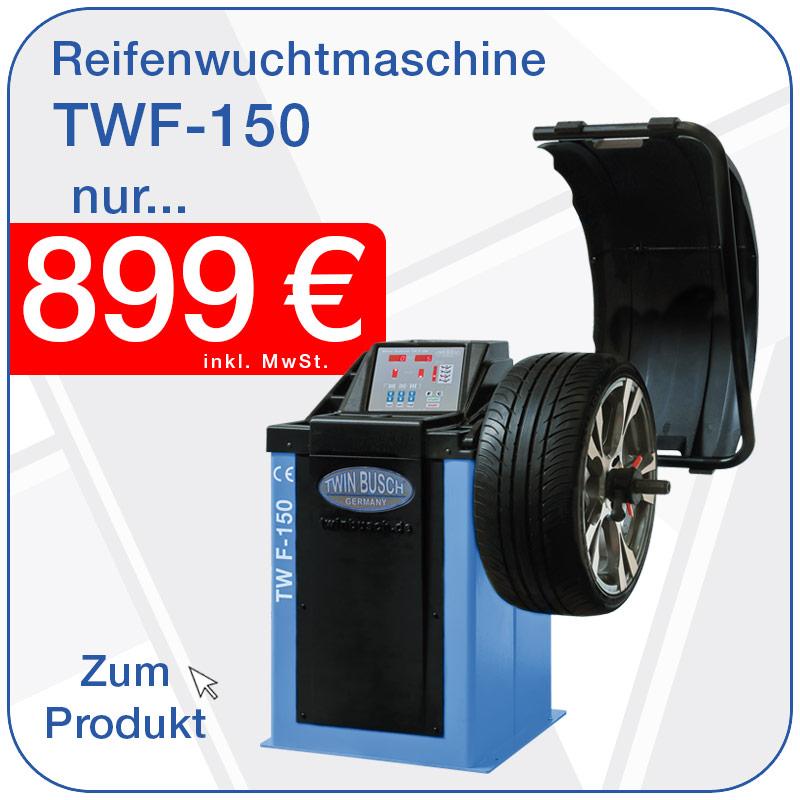 Reifenwuchtmaschinen TW F-150 nur 699€ inkl. MwSt.