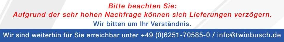 Banner Verzögerung DE