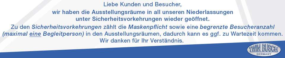 Banner Wieder offen DE