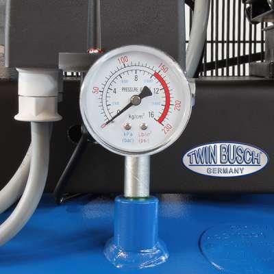 Druckluftkompressor stehend 270 L