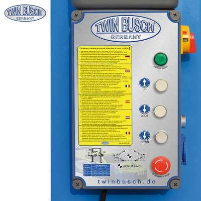 2 Säulen Hebebühne 5.0 t - elektromagnetisch - barrierefrei - HEAVY LINE