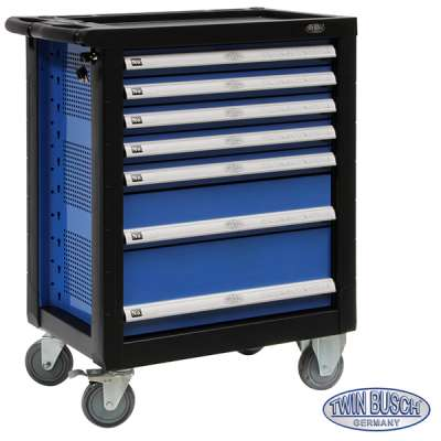 Tool trolley with 7 drawers