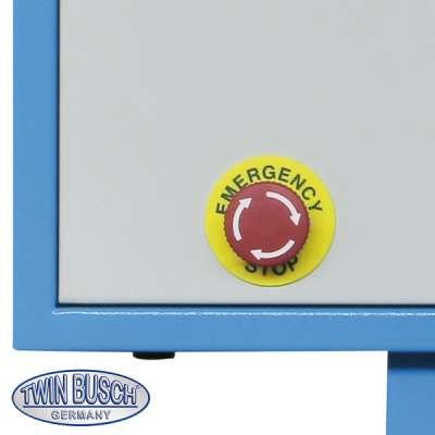 Rollen-Bremsenprüfstand mit Anzeigeschrank Digital-Display