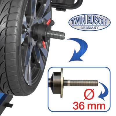 Quick release nut 36 mm