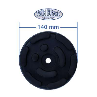 Support rubbers for one post lifts - TW G-1A