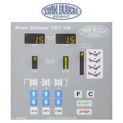 Wheel Balancer Semi autom. - TW F-150