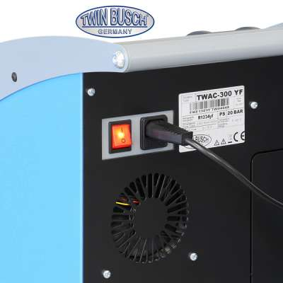 Fully automatic air conditioning service unit