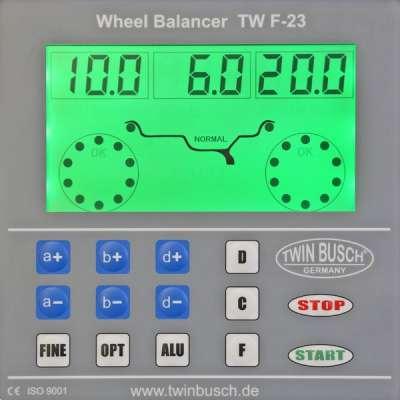 Set - Reifenmontagemaschine TW X-36 + Reifenwuchtmaschine TW F-23