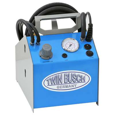 Electric brake fluid exchanger