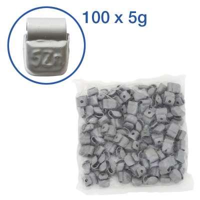 Set Auswucht-/Schlaggewichte 5-45 g Zink (ZN)