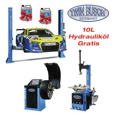 Set - TW 242 A + TW X-610 + TW F-150 + 10 L Hydrauliköl Gratis