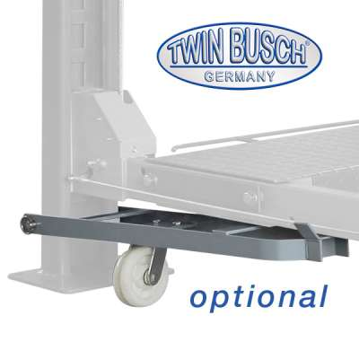 4 post double parking lift - 3.6 t - GREY-Line - NEW: Now also available in anthrazite