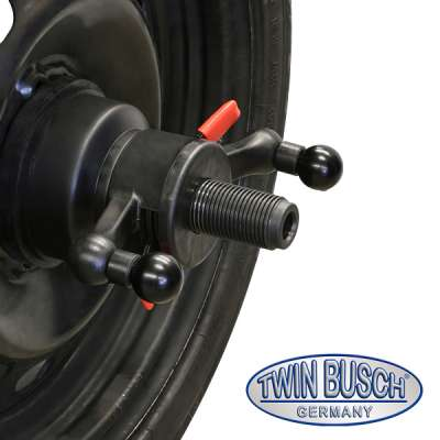 Combination set:  Tyre changer TWX-610 and Wheel balancer manual spin -  semi autom. - TWF-100