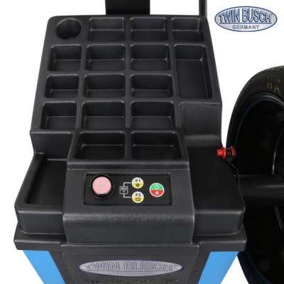 Reifenwuchtmaschine mit autom. pneumatischer Radspannung - TW F-97