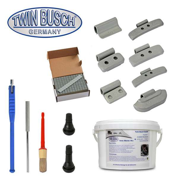 Starter pack for Tyre fitting and wheel balancing