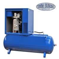 Schraubenkompressor liegend 500 L