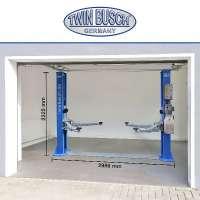 Garagenmodell  -2 Säulen Hebebühne 4,2 t - 10 L Hydrauliköl GRATIS
