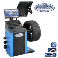 Wheel Balancer with automatic pneumatic wheel tightening - TW F-97