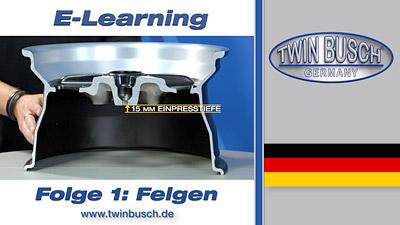 TWIN BUSCH® E-Learning: Felgen - Folge 1