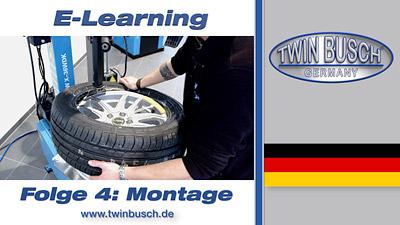 TWIN BUSCH® E-Learning: Reifenmontage - Folge 4