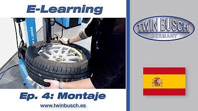 TWIN BUSCH® E-Learning: Montaje de neumáticos (Run-Flat) - Episodio 4