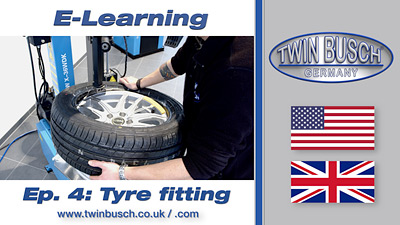 TWIN BUSCH® E-Learning: Tyre fitting / Run-flat - Episode 4