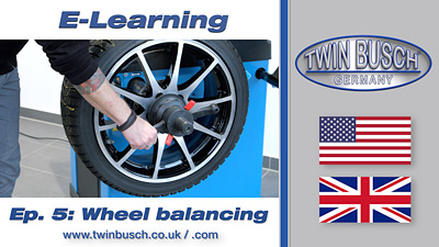 TWIN BUSCH® E-Learning: Wheel balancing - Episode 5