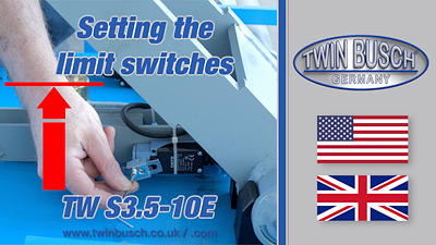 Setting the limit switches