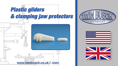 Plastic gliders & clamping jaw protectors