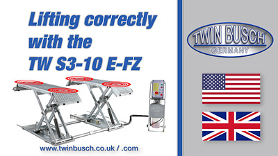 Lifting correctly with the TW S3-10E-FZ
