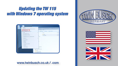 Updating the TW 115